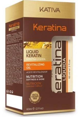 Kativa Keratina Olejek do włosów z keratyną 60 ml