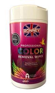 Chusteczki do usuwania plam po farbowaniu Ronney Color Removal  Wipes 100 szt.