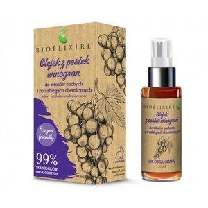 Olejek z pestek winogron BIOELIXIRE do włosów suchych i po zabiegach chemicznych 50 ml