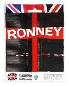 Wsuwki do włosów Ronney 100 sztuk czarne z kulką