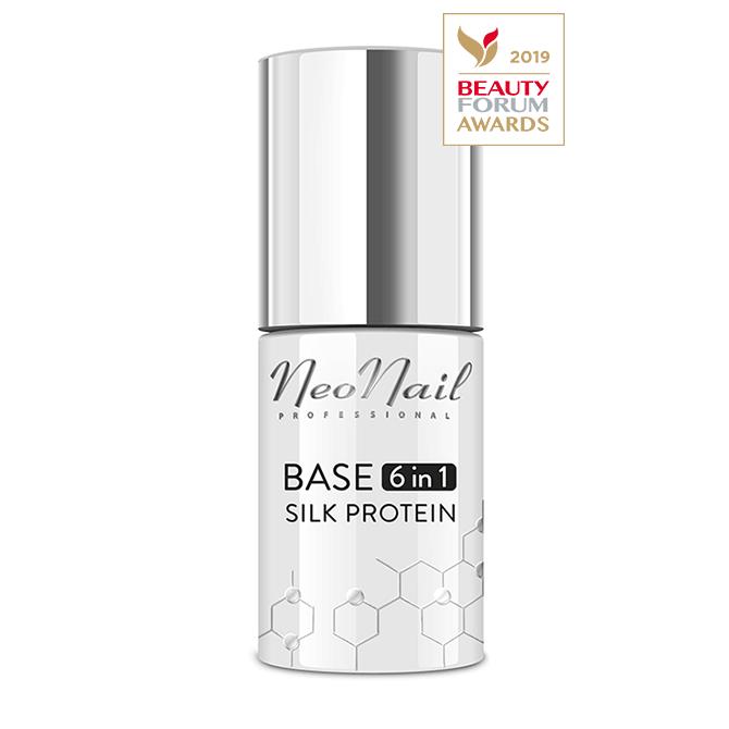 Baza 6in1 Base Neonail Silk Protein